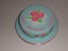 Cath Kidston themed cake #cavendishcakes