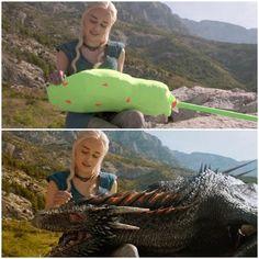 """Antes e depois dos efeitos especiais:""""Game of Thrones"""""""