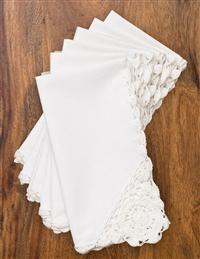 April Cornell Crochet Napkins @ Victorian Trading Co.