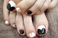disenos unas pies, toes nail design