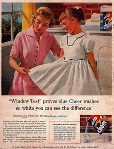 "Cheer Detergent Ad ""The American Home"" July 1956"