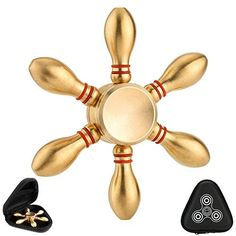 What can I get? 1.One Brass Fidget Spinner 2.One Black Gift Box How long do it spins for? It can spin more than 3 minutes  Loud Noise? Balanced? Durable? Fast? Crack after Falling Down? 1. Honestly,there is even no noise. 2.It balances well whether you use your finger or table to spin. 3.It is... more details available at https://perfect-gifts.bestselleroutlets.com/gifts-for-teens/toys-games-gifts-for-teens/product-review-for-brass-fidget-spinner-3-7-minutes-spin-time-durable