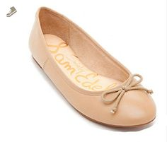 9c4ec6616470 Sam Edelman Womens Carrie Leather Ballet Flats Shoes (7) - Sam edelman  flats for women ( Amazon Partner-Link)