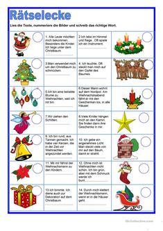 Немецкое Рождество, Рождественские Игры, Рождественские Издания, Рождество, Рождество В Стиле Ретро, Рождественский Декор, Немецкий Язык, Изучение Немецкого Языка, Manualidades