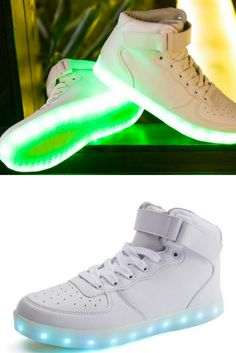 Light Up Shoes LED High Tops