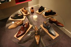 Pierre Corthay has been making shoes in Paris for years.