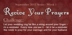 Revive Your Marriage
