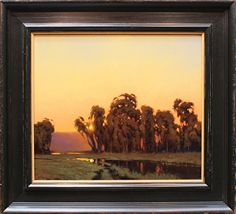 Valley Reflections by Kevin Courter Oil ~ 14 x 16
