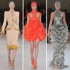 incredible collection... - Alexander Mcqueen spring/summer fashion show 2012