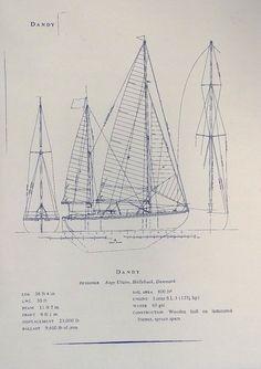 Sailboat hunter blueprint tattoo pinterest sailboat dandy blueprint malvernweather Image collections
