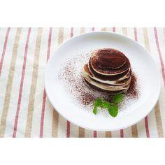 クミタス レシピ 米粉のパンケーキで♪豆腐のティラミス (小麦・卵・乳製品なし)