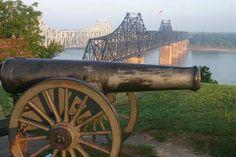 Mississippi River, Vicksburg MS