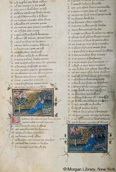 Roman de la Rose, MS G.32 fol. 13v - Images from Medieval and Renaissance Manuscripts - The Morgan Library & Museum
