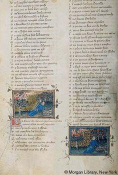 Roman de la Rose, MS G.32 fol. 13v - Images from Medieval and Renaissance Manuscripts - The Morgan Library & Museum