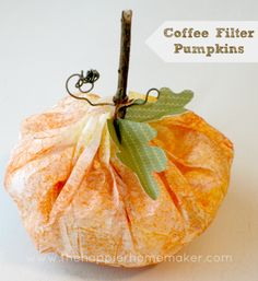 super easy fall/halloween craft!!