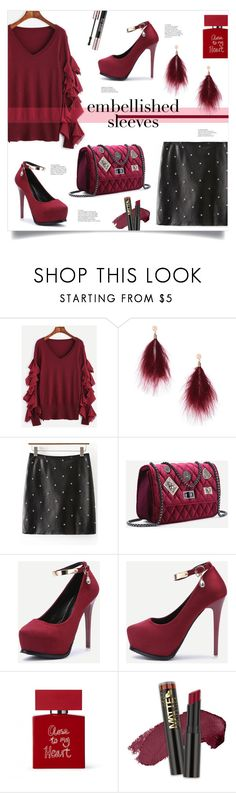 """""""Make a Statement: Embellished Sleeves"""" by mahafromkailash on Polyvore featuring WithChic, Bella Freud and Yves Saint Laurent"""