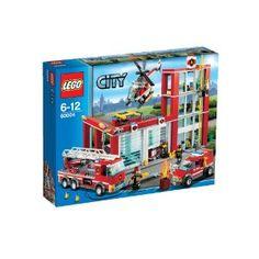Lego City 60004 - Feuerwehr-Hauptquartier - http://kidstoysplanet.com/toys-games/lego-city-60004-feuerwehrhauptquartier-de/?http://kidstoysplanet.com/