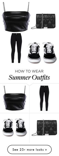"""All black."" by denifrantoss on Polyvore featuring Ted Baker"