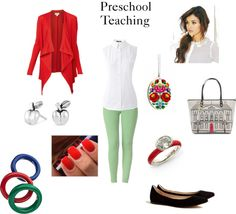 """Preschool Teaching"" by sequin-diva on Polyvore"