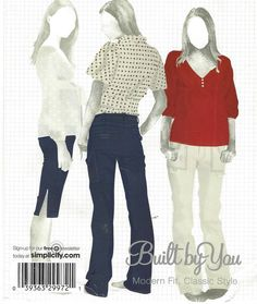 Simplicity Sewing Pattern 4110 Womens Cargo Style by CloesCloset