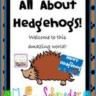 Friends~Are you looking for something new to get your kiddos excited about learning? Well, I have just the thing! The exciting world of hedgehogs. Not only are these little guys adorable, they are fascinating!  I actually own one of these little guys and he has brought so much joy to our family! Included in this file you will find the following: Directions on introducing the unit. 8 fact cards for guessing  $8.99