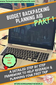 Budget travel planning aid for backpackers: Part 1 - Forever roaming the world - long term budget backpacking planning aid is a detailed post providing help with structuring your p - Working Holiday Visa, Working Holidays, Budget Travel, Travel Tips, Travel Hacks, Travel Articles, Travel Stuff, Backpacking Tips, Camping Tips