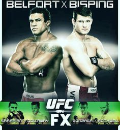 UFC on FX 7 'Belfort vs Bisping' Rumors and Full Fight Card for Jan. 19 in Sao Paulo, Brazil