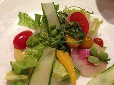 Farm fresh salad, The Islander, Ocean Reef Club
