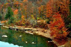 Cheat River, Preston County, Allegheny Highlands Region.