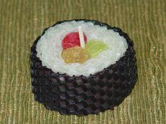 sushi candle =)