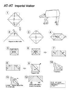 """Star Wars"" Origami"