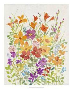 Art Print: Hot Summer Mix I : 22x18in