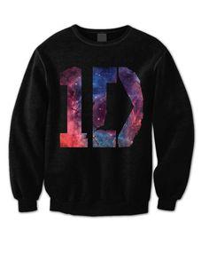 One Direction Sweatshirt - 1D Galaxy Shirt - One Direction Shirt - 1D Sweatshirt One Direction Sweater - Directioner Sweatshirt HL0002
