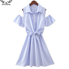 Cheap dress for, Buy Quality dress for women directly from China women dress Suppliers: 2017 high quality summer Women's dress For Women vestidos stripe Strapless Ladies Leisure office A-Line Dresses Loose waist Summer Dresses For Women, Cheap Dresses, Designing Women, Wrap Dress, Woman, Clothes For Women, Lady, Beautiful, Color