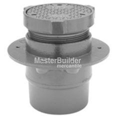 Zurn ZB1400 K Bronze Adjustable Cleanout Anchor Flange U2013 MasterBuilder  Mercantile Inc.