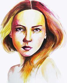 Tableau acrylique  Format : 100x100 cm www.sophie-duchaine.com