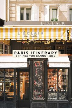 The perfect Paris itinerary – 8 things you absolutely cannot miss. The best non-… The perfect Paris itinerary – 8 things you absolutely cannot miss. The best non-cliche, off-the-beaten-path things to do, see, eat, and drink. Nice, Marseille France, Paris France Travel, Paris Travel Guide, European Vacation, European Travel, Sainte Chapelle Paris, Le Marais Paris, Wanderlust
