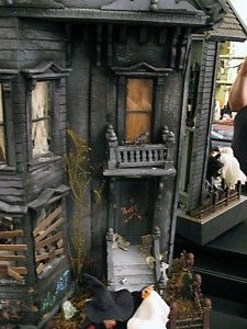 Haunted dolls' house is 'weird and wacky' winner of The Dolls House Emporium's 2011 competition.