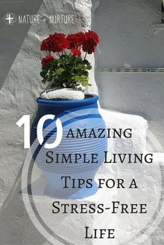 Simple Living Tips for a Stress-Free Life