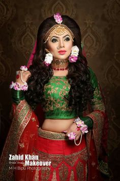Bridal Looks, Bridal Make Up, Bridal Jewellery, Wedding Jewelry, Diy Jewellery Designs, Small Nose, Middle Eastern Fashion, Bridal Photoshoot, Bride Flowers