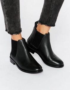 Faith Binky Leather Chelsea Boots