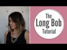 Summer Lob Haircut Tutorial - YouTube
