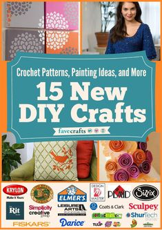 Crochet patterns painting ideas and more 15 new diy crafts  crochet