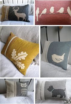 One more reason to mix up sofa pillows. Sewing Pillows, Diy Pillows, Throw Pillows, Sofa Pillows, Decorative Cushions, Scatter Cushions, Textiles, Cushion Covers, Pillow Covers