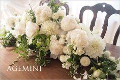 シャクヤクの会場装花。|ウェディングブーケデザイナーの日記