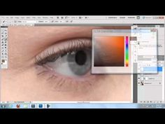 Photoshop Tips: Eyebrows, Eyelashes and Flyaways