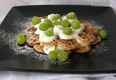 Belgické+vafle+s+tvarohem Pancakes, French Toast, Breakfast, Food, Morning Coffee, Essen, Pancake, Meals, Yemek