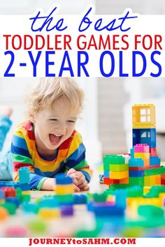 Best Games for Toddlers Ages 2 and 3 – The holidays are great to buy toys, clothes, and other items for your toddlers. One thing that is often overlooked? Games. Yep, that's right, you can play games with a 2-year-old. The best part of these games? They grow with your children. Each game is educational and teaches your toddler patience. Who doesn't love a patient toddler?| @journeytoSAHM #educationaltoysfortoddlers #besttoysfortoddlers #todllergames #toddler #toddlerplaytime #gamesfortoddlers Best Toddler Games, Toddler Age, Toddler Books, Best Games, Educational Toys For Toddlers, Games For Toddlers, Toddler Activities, Toddler Sleep Training, Potty Training
