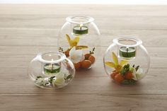 PartyLite introduces ... Clearly Creative Eclectic Votive Trio (each with a pressed glass candle cup)
