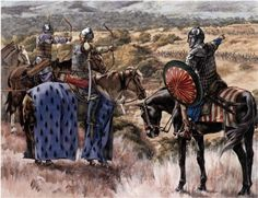 Muslim Archery cavalry tactic during war